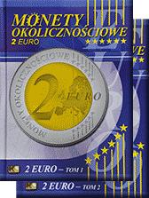 Albumy na monety Okolicznościowe 2 Euro (tom 1 i 2)