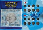 Albumy na monety Obiegowe strefy Euro (tom 1 i 2)