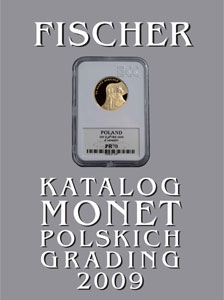 Katalog monet polskich - Fischer 2009 - GRADING - monety