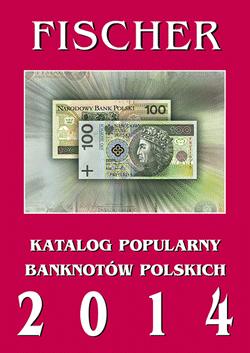 Katalog Banknotów Polskich Fischer 2014