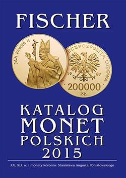 Katalog monet polskich - Fischer 2015