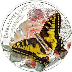 Andora - 2013, 5 Dinarów - Egzotyczny Motyl 3D