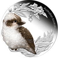 Australia - 2012, 50 cents - Dzieci Buszu II - Kookaburra