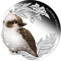Australia - 2012, 50 cents - Dzieci Buszu II - Kookaburra - monety