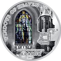 Cook Islands - 2012, 10 Dollars - Okna Niebios - KRAKOW - 6. moneta