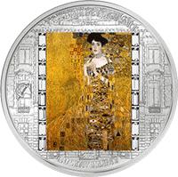 Cook Islands - 2012, 20 dolarów - Gustav Klimt - Portret Adeli Bloch Bauer - Ars Vaticana