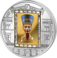 Cook Islands - 2012, 20 dolarów - Nefretete - Ars Vaticana