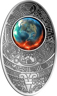 Fiji - 2012, 10 Dollars - Apokalipsa - 1. Koniec świata - monety