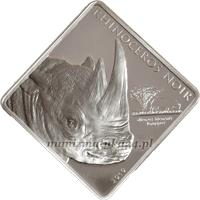 Kamerum - 2010, 1500 Francs - Nosorożec Czarny - Wyjątkowa Natura - monety