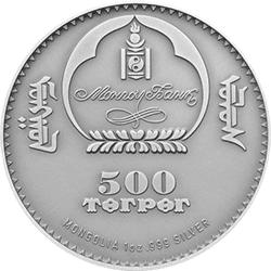 Mongolia - 2013 - 500 Togrog - Argali Ovis Ammon