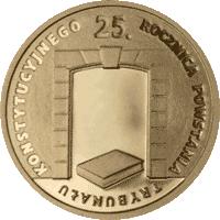 25 zł 2010 25. rocznica powstania Trybunału Konstytucyjnego
