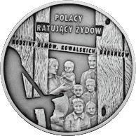 20 zł 2012 Polacy ratujący Żydów - monety