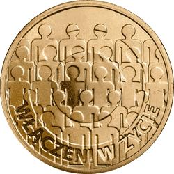 2 zł 2013 50-lecie działalności Polskiego Stowarzyszenia na Rzecz Osób z Upośledzeniem Umysłowym - monety