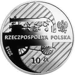 10 zł 2013 Hipolit Cegielski