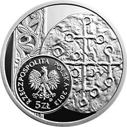 5 zł 2013 Historia Monety Polskiej - Denar Bolesława Chrobrego