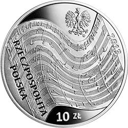 10 zł 2013 Witold Lutosławski