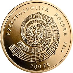 200 zł 2012 Witold Lutosławski