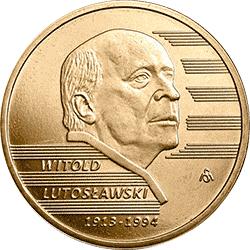2 zł 2013 Witold Lutosławski - monety