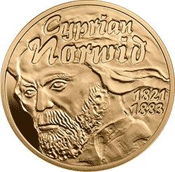 200 zł 2012 Cyprian Norwid