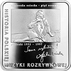 10 zł 2013 Agnieszka Osiecka - kwadrat