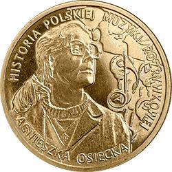 2 zł 2013 Agnieszka Osiecka - monety