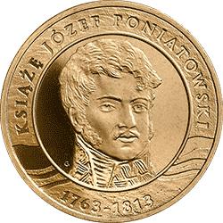 2 zł 2013 200. rocznica śmierci księcia Józefa Poniatowskiego - monety