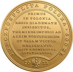 500 zł 2013 Skarby Stanisława Augusta - Bolesław Chrobry