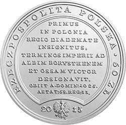 50 zł 2013 Skarby Stanisława Augusta - Bolesław Chrobry