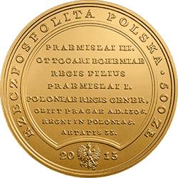500 zł 2013 Skarby Stanisława Augusta - Wacław II Czeski