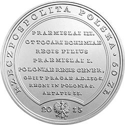 50 zł 2013 Skarby Stanisława Augusta - Wacław II Czeski