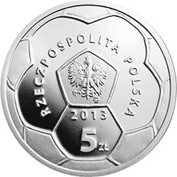 5 zł 2013 Polskie Kluby Piłkarskie - Warta Poznań