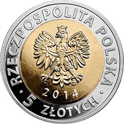 5 zł 2014 25 lat wolności - Odkryj Polskę