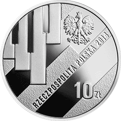 10 zł 2014 Grzegorz Ciechowski - Okrągła