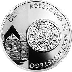 10 zł 2014  Historia Monety Polskiej - Denar typu 2. Bolesława Krzywoustego