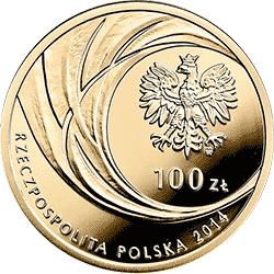 100 zł 2014 Kanonizacja Jana Pawła II - 27 IV 2014