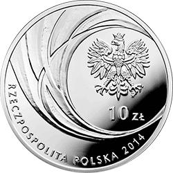 10 zł 2014 Kanonizacja Jana Pawła II - 27 IV 2014