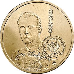 2 zł 2014 Jan Karski - monety