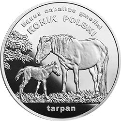 20 zł 2014 Konik polski - Zwierzęta świata