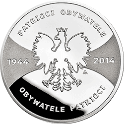 20 zł 2014 Patrioci 1944 Obywatele 2014