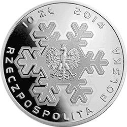 10 zł 2014 Polska Reprezentacja Olimpijska Soczi 2014