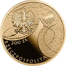 200 zł 2014 Polska Reprezentacja Olimpijska Soczi 2014