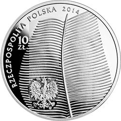 10 zł 2014 150. rocznica urodzin Stefana Żeromskiego