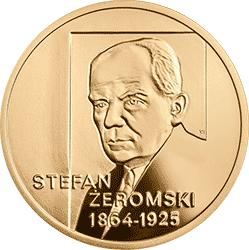 200 zł 2014 150. rocznica urodzin Stefana Żeromskiego