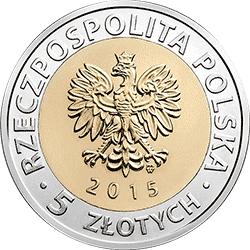 5 zł 2015 Ratusz w Poznaniu - Odkryj Polskę