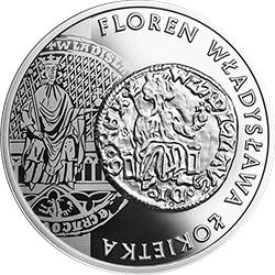 20 zł 2015 Historia Monety Polskiej - Floren Władysława Łokietka