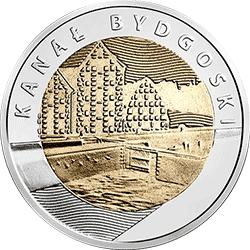 5 zł 2015 Kanał Bydgoski - Odkryj Polskę - monety
