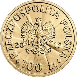 100 zł 2015 Józef Piłsudski - Stulecie odzyskania przez Polskę niepodległości