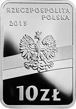 10 zł 2015 Józef Piłsudski - Stulecie odzyskania przez Polskę niepodległości
