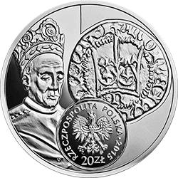20 zł 2015 Historia Monety Polskiej - Półgrosz Władysława Jagiełły