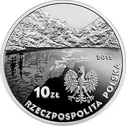 10 zł 2015 150. rocznica urodzin Kazimierza Przerwy-Tetmajera